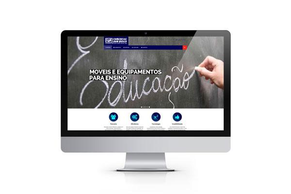 Site Comercial Dom Bosco